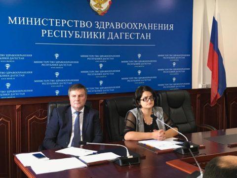 Селекторное совещание с Минздравом России по вопросам реализации Нацпроекта «Здравоохранение» в республике