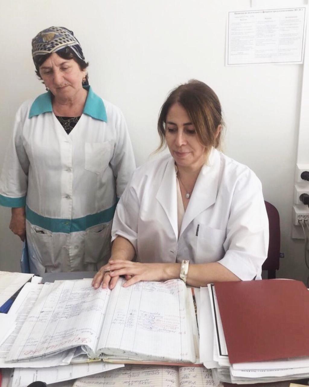 Обучение докторов санпросвет работе с населением в ЦГБ г. Дагестанские Огни