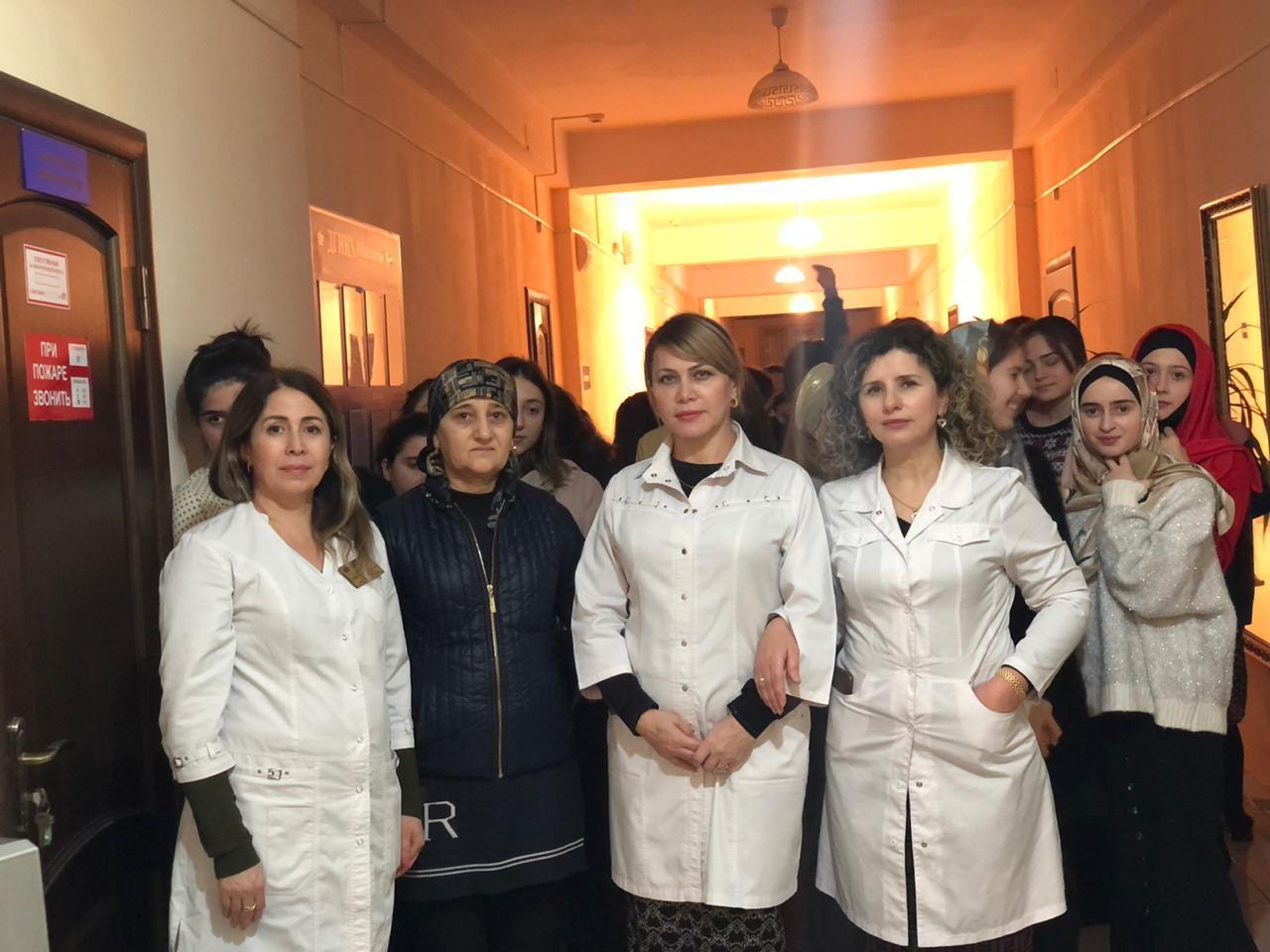 Республиканский центр медицинской профилактики на днях посетил женское общежитие ДГУНХ