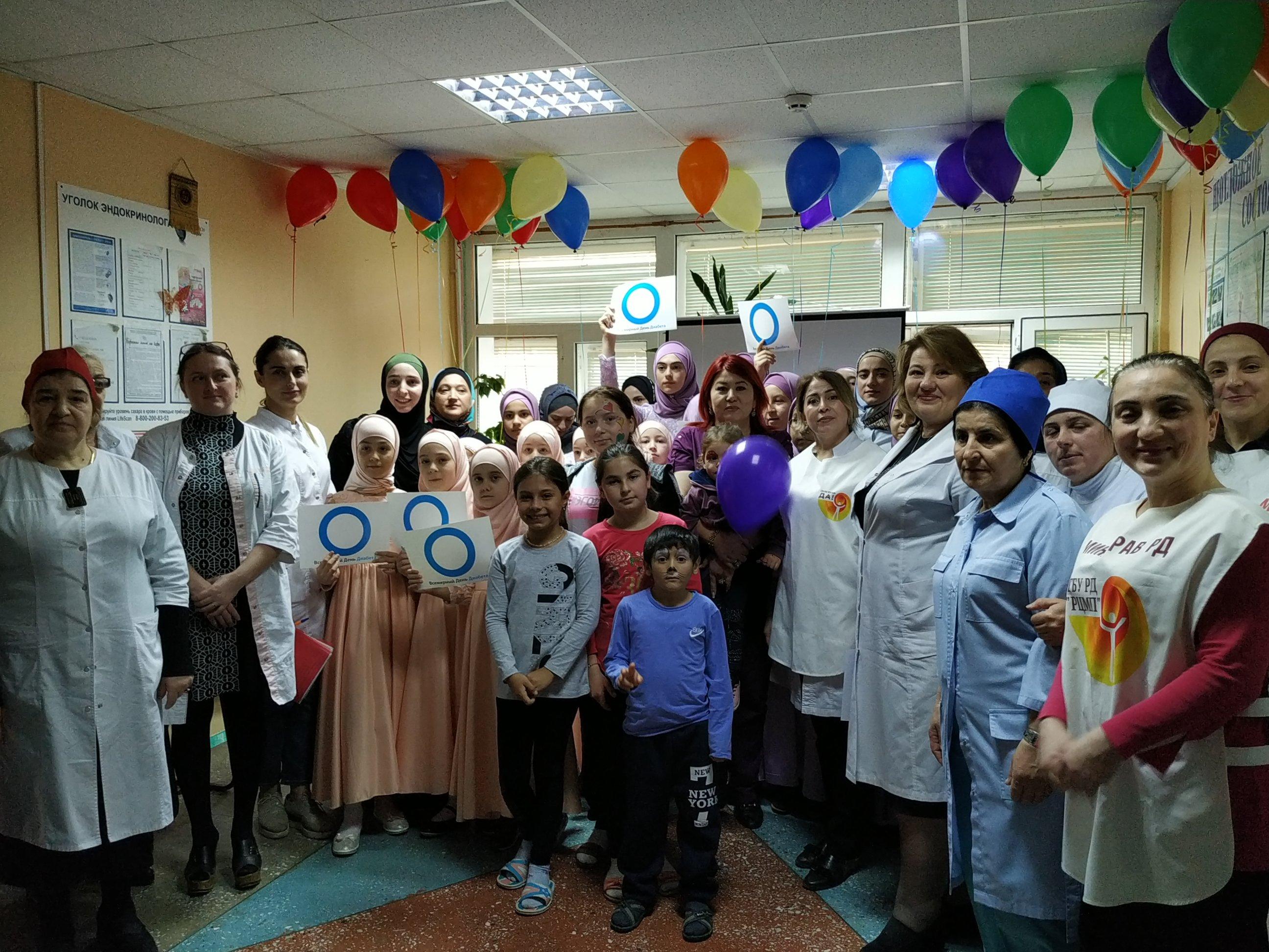 Акция в Детской больнице