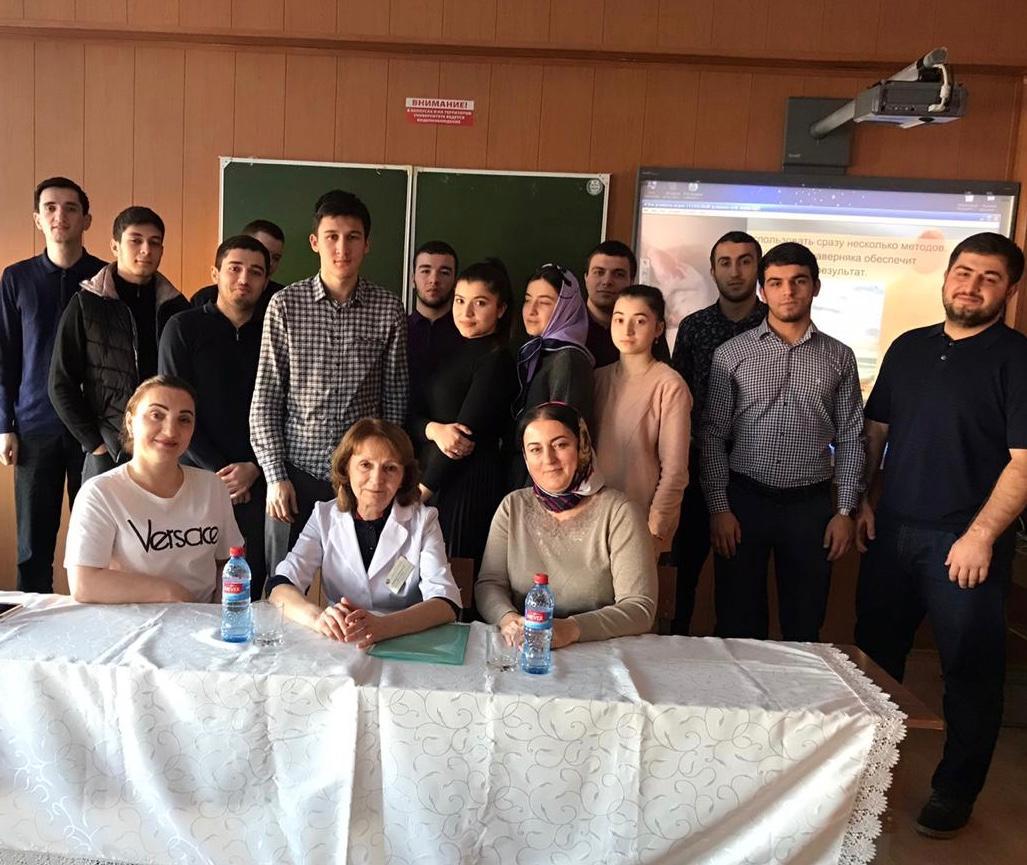 Специалисты Республиканского центра медицинской профилактики провели профилактическую беседу со студентами ДГТУ