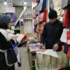 """В течение двух дней специалисты ГБУ РД """"РЦМП"""" обошли все крупные рынки города Махачкала с информацией о способах профилактики ОРВИ и гриппа"""