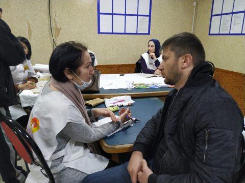 В конце прошлой недели врачи Республиканского центра медицинской профилактики посетили вещевой рынок по ул. Ирчи Казака в Махачкале