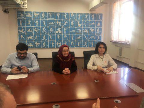 Мероприятия по профилактике гриппа и коронавируса в министерствах и ведомствах республики