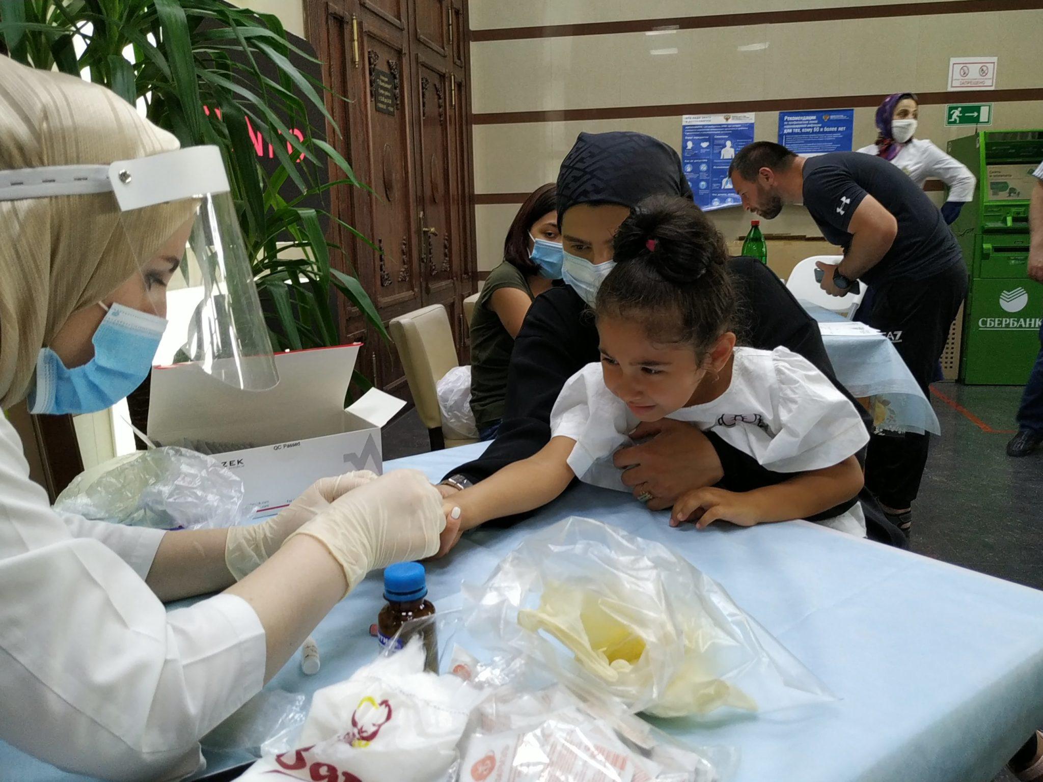 Более 500 человек прошли бесплатное экспресс-тестирование на COVID-19