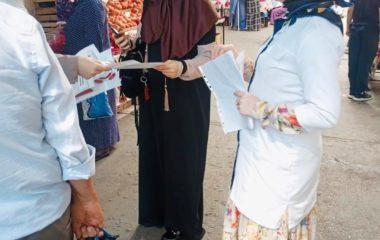Специалисты Республиканского центра медицинской профилактики провели ряд мероприятий на основных рынках города Махачкалы