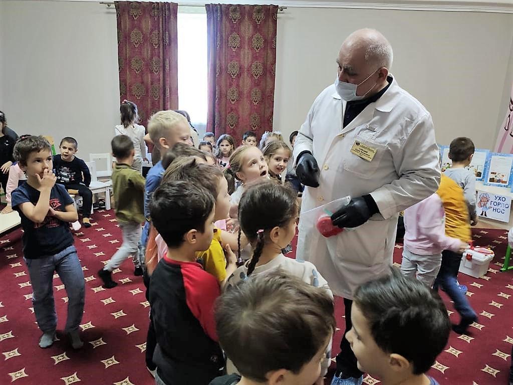 На минувшей неделе во Всемирный день чистых рук специалисты ГБУ РД