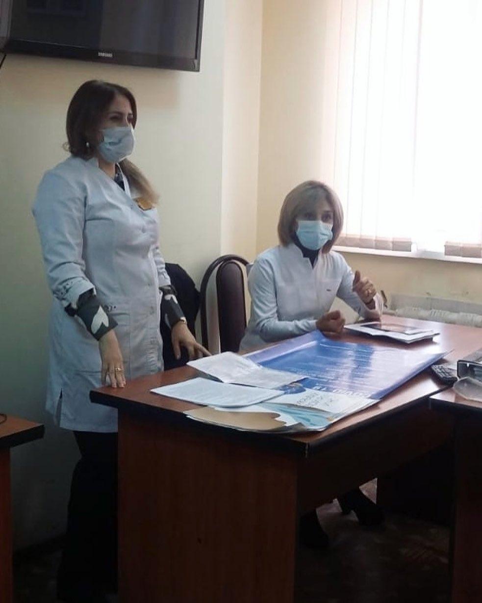 Дербентским и Магарамкентским таможенникам рассказали о важности вакцинации
