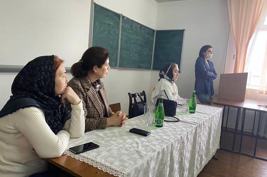 Небольшое образовательное мероприятие было организовано ГБУ РД