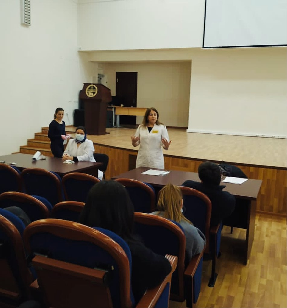 «Точка кипения ДГУ» - молодежный центр, где на этой неделе врачи ГБУ РД