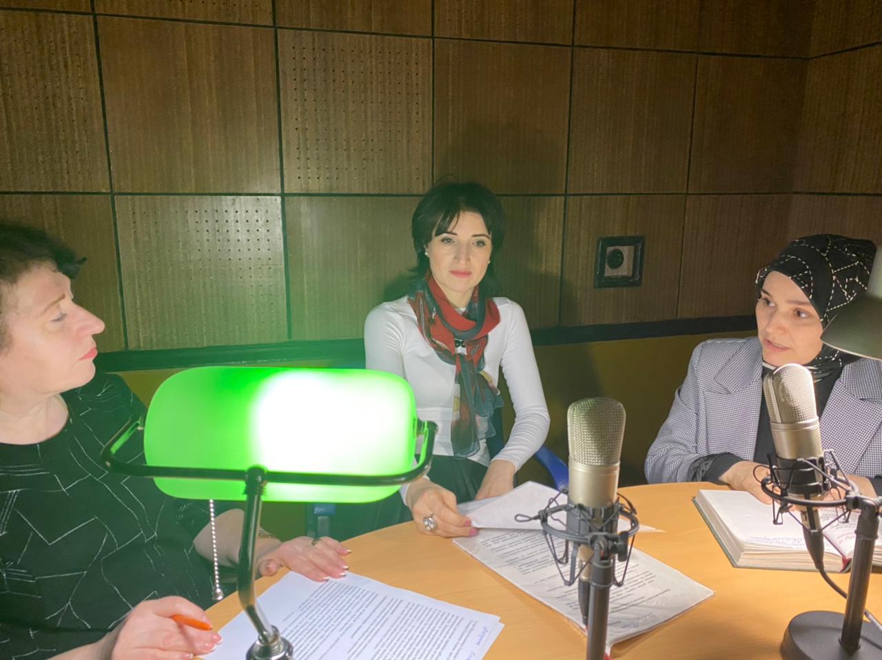 Круглый стол по вопросам вакцинопрофилактики прошёл в эфире радио ГТРК «Дагестан»
