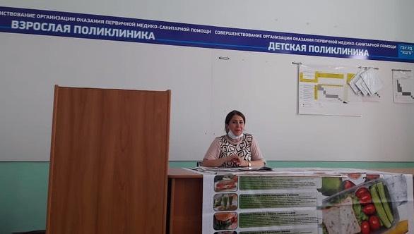 Врачи-гигиенисты Республиканского центра общественного здоровья и медицинской профилактики посетили Каспийскую ЦГБ