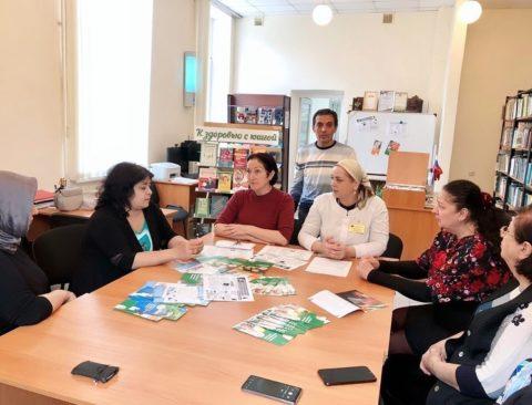 Объединённая акция по заболеваниям органа слуха и профилактике болезни Альцгеймера прошла в минувшие выходные в городской библиотеке Махачкалы