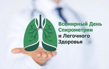 Всемирный день спирометрии и легочного здоровья отмечается ежегодно 14 октября