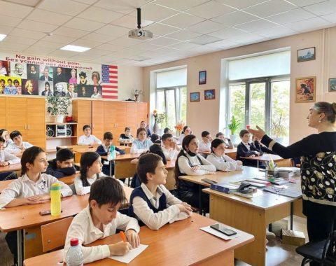 Профилактические акции ко Всемирному дню мытья рук (15 октября), организованные Республиканским центром общественного здоровья и медицинской профилактики, продолжились на прошлой неделе в школах